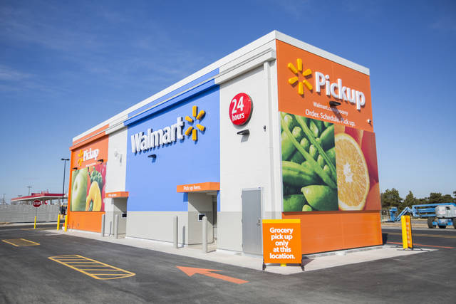 Walmart kiosk